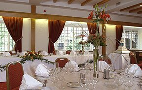 Allum Bridge Suite wedding reception
