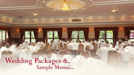 Wedding Packages and Menus